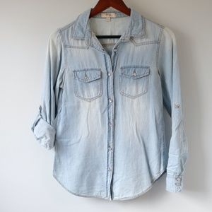 BLVD Collection Chambray Button-Down